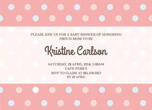 Simple Baby Shower Invi... by Claire Hahm