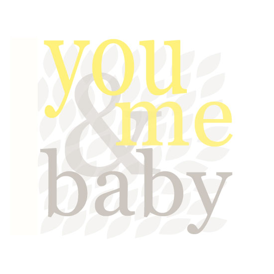 art prints - You and Me Baby by Clair Landers
