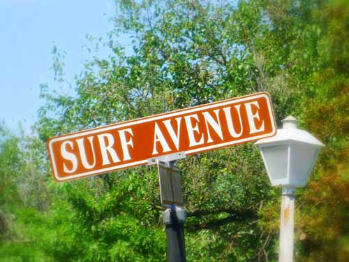 art prints - Surf Avenue by Allison Albainy
