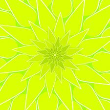 art prints - Dahlia-Green by Tami Warrington