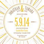 Sunburst Wedding by Tami Warrington