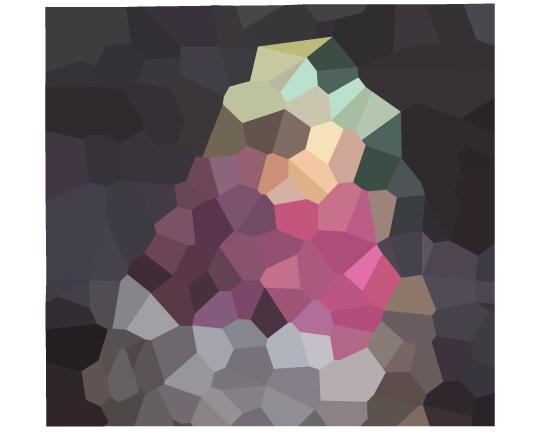 art prints - Geometric Hummingbird by Paper Monkey Press