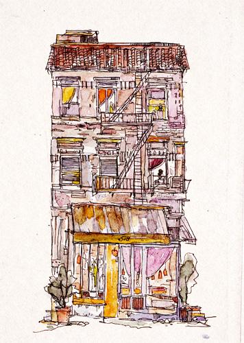 art prints - New York Impression by Ling Zhou