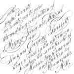 Slanted Script by Monica Francis