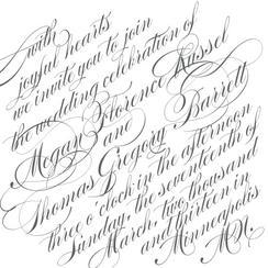 Slanted Script