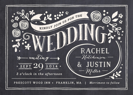 wedding invitations - Alabaster Florals by Jennifer Wick