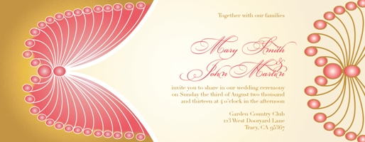 wedding invitations - Anike by IJORERE The Invitation Inc