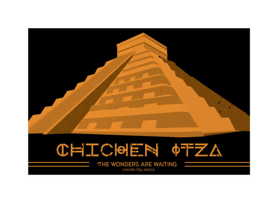 art prints - Discover the Chichen Itza by Diane Zeise