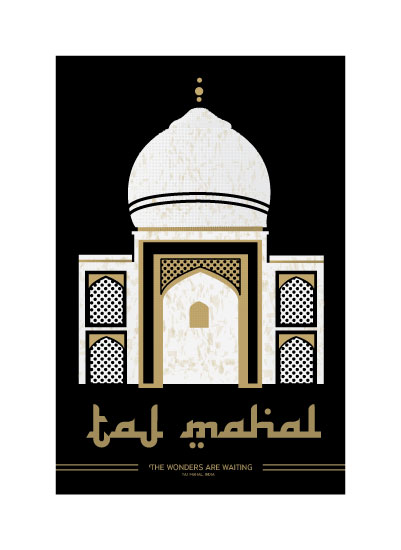 art prints - Discover the Taj Mahal by Diane Zeise