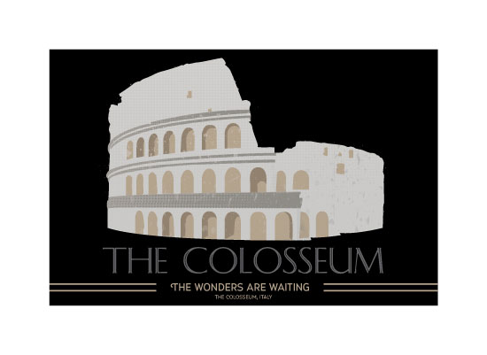 art prints - Discover the Colosseum by Diane Zeise