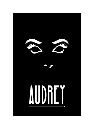 art prints - Hello, Audrey by Diane Zeise