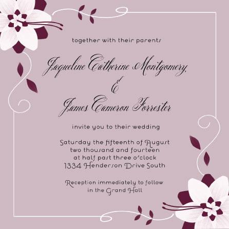wedding invitations - Blushing Bride by Cindy Jost