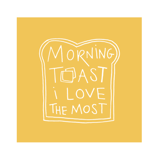art prints - Morning Toast by Carmi Cioni