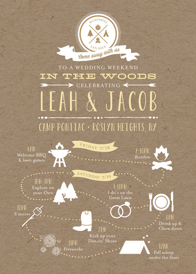 Fall Wedding Invite with amazing invitation sample