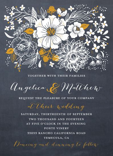 wedding invitations - Simply Elegant by Petra Kern
