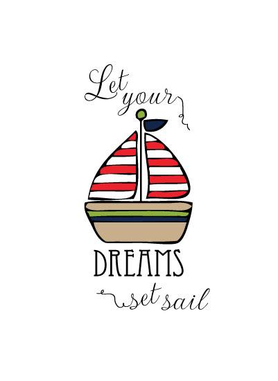 art prints - Set Sail by Love Sugar Apple
