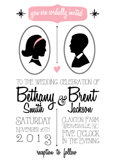 American Wedding Invitations with perfect invitations layout