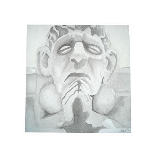 art prints - The Meditator by EN Rault