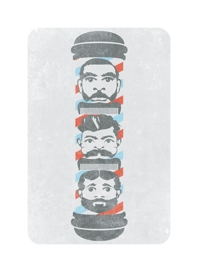 art prints - Barber Totem by We Say Things