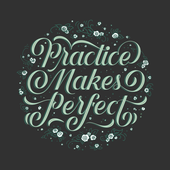 art prints - Practice Makes Perfect by Becca Clason
