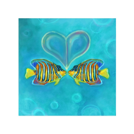 art prints - No Other Fish In The Sea For Me by Charis