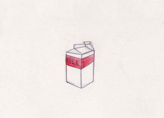 art prints - milk was a bad choice by Lynne Lincoln