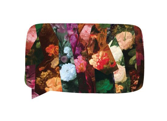 art prints - Flowery Speech by Artstechno