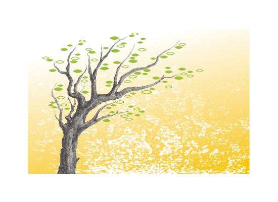 art prints - Desert Tree by B.B.Company