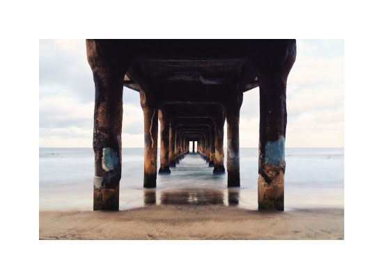 art prints - Shoot the Pier by Christian Florin