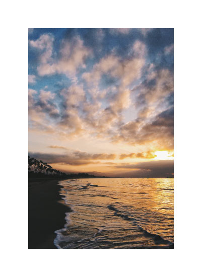 art prints - Santa Barbara Sunrise by Christian Florin