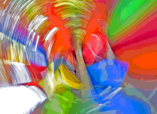 art prints - twirl a WHIRL by Gail Schechter
