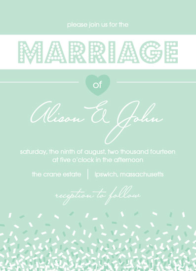 wedding invitations - Celebrate! by Erin Barbato