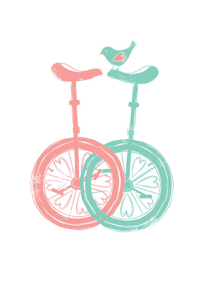 art prints - Lovecycle by maudie and ma