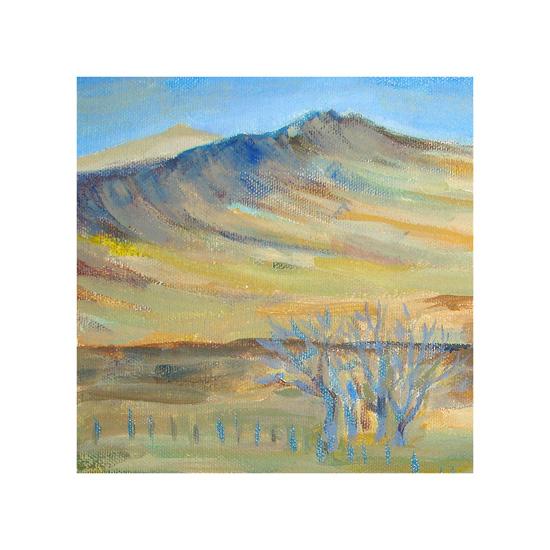 art prints - Wyoming Hills by Olga Mendenhall