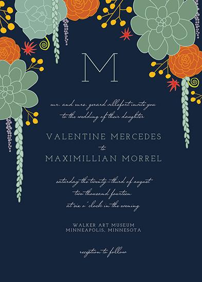wedding invitations - Mojave by Iron Range Artery