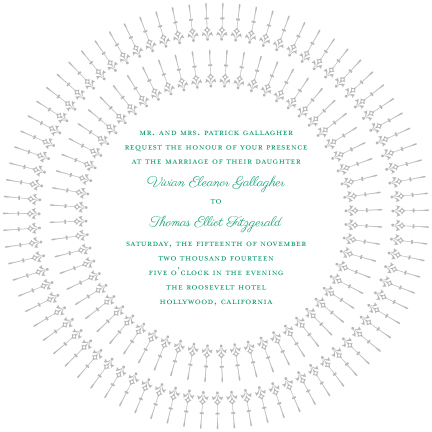 wedding invitations - Classic Vintage Hollywood by Lily Lasuzzo