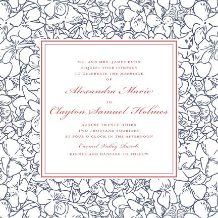 wedding invitations - Rustic Romance by Lily Lasuzzo