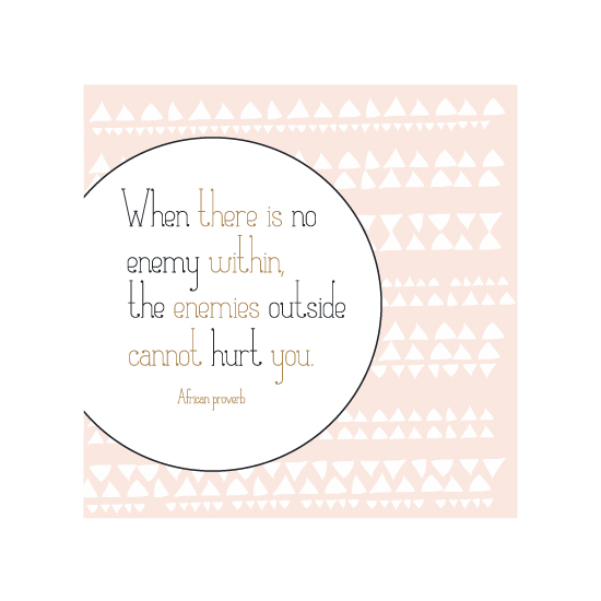 art prints - African Proverb by Sarah Caracciolo