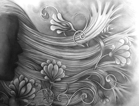 art prints - free flow by Megan K. Dew
