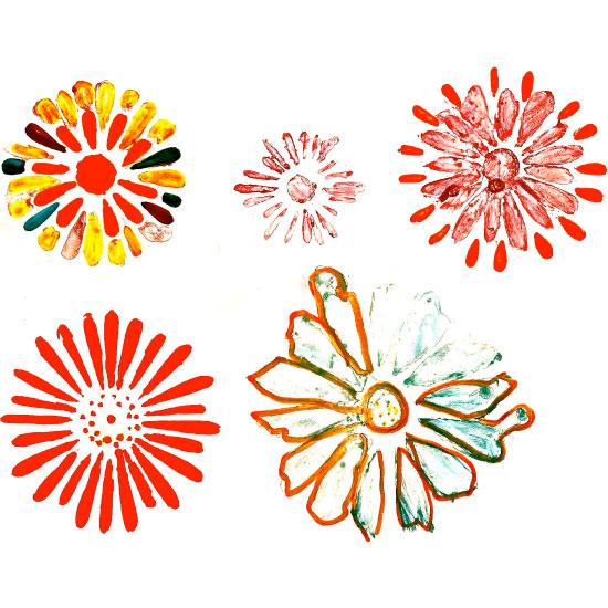 art prints - Marigolds Inflight by Diane Turner