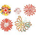 Marigolds Inflight by Diane Turner