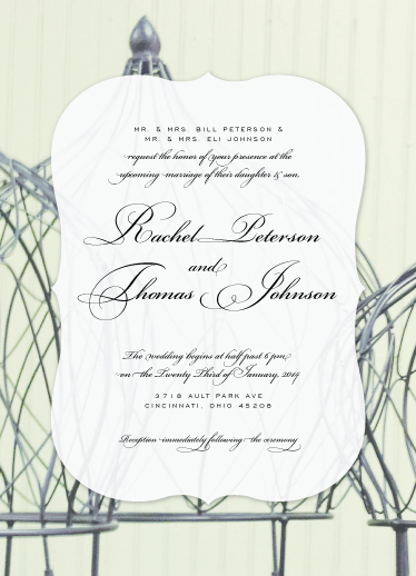 wedding invitations - Wired For You by Liz Johnson