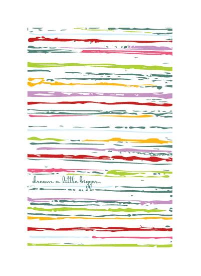 art prints - Dream A Little Bigger 2 by Love Sugar Apple