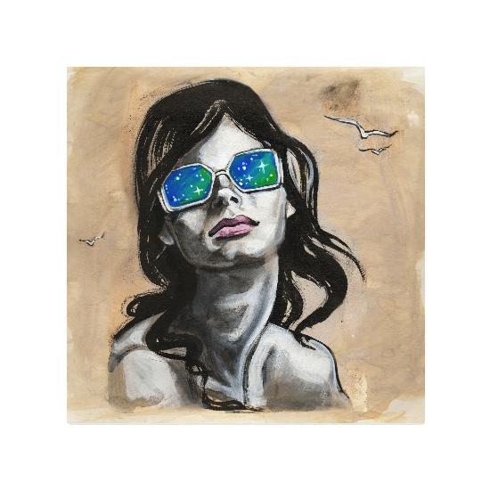 art prints - Sparkle Sunglasses by Charis