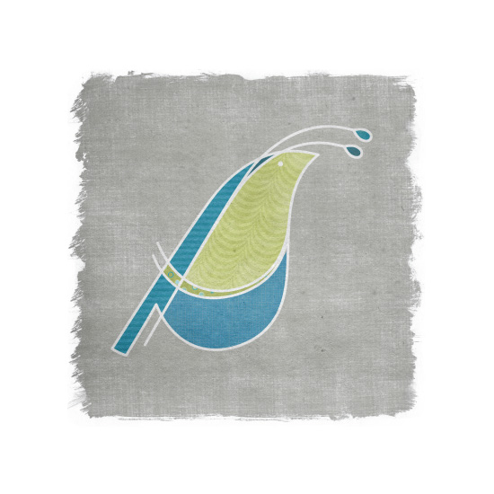 art prints - Three Birds, No Stone: No.1 by Heather Steed