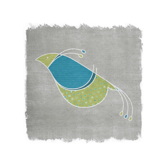 art prints - Three Birds, No Stone: No.3 by Heather Steed