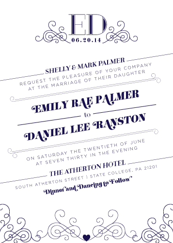 wedding invitations - Movin On Up by Stephanie Bobruska