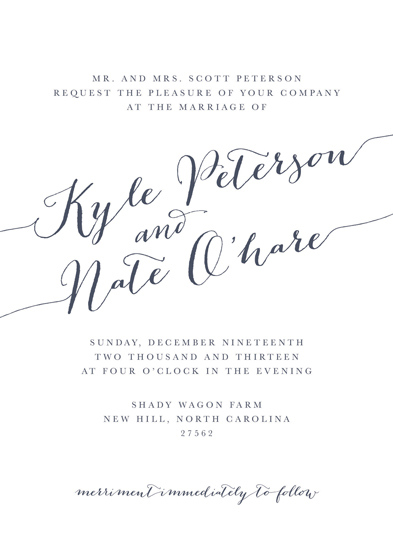 wedding invitations - Simple Mix by Evan Bell