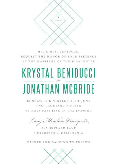 wedding invitations - Lines That Bind by Lindsey Chin-Jones