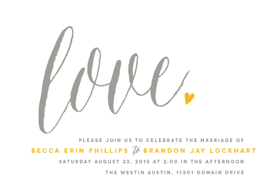 wedding invitations - Charming Love by Melanie Severin